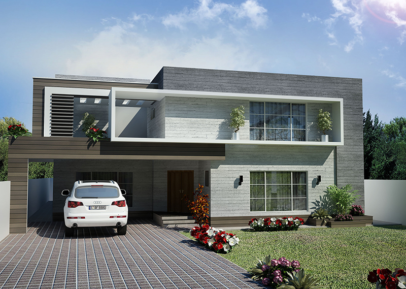 House-exterior-3D-rendering