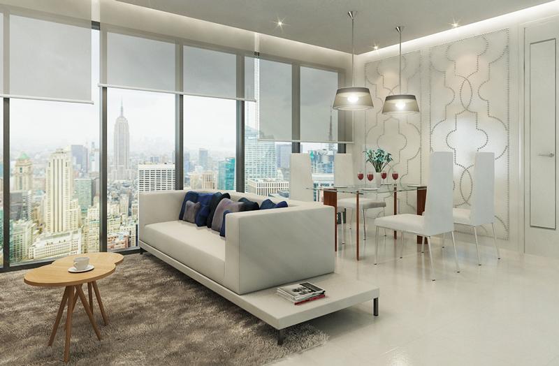 New-York-Residence-3D-rendering