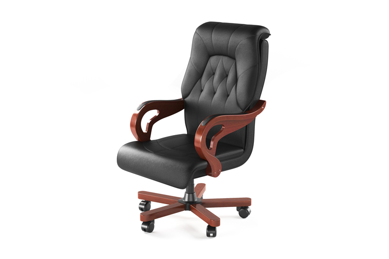 Office-chair-furniture-3D-rendering
