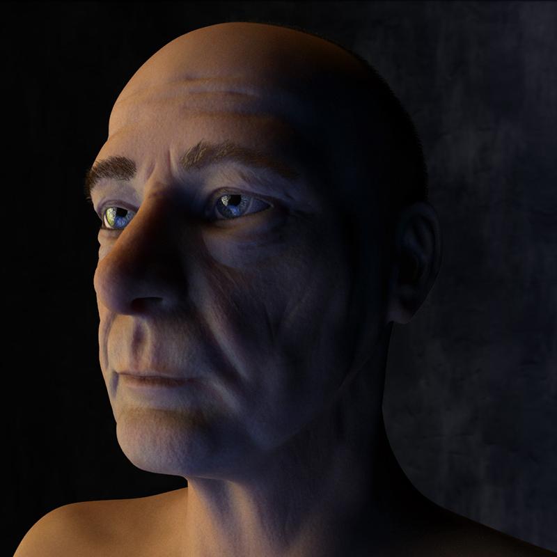Older-Man-3D-animation-rendering