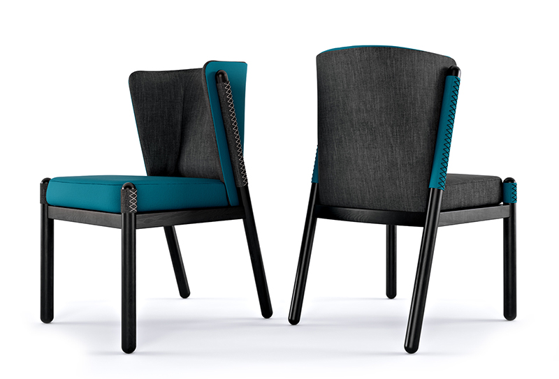 Chair-white-background-rendering