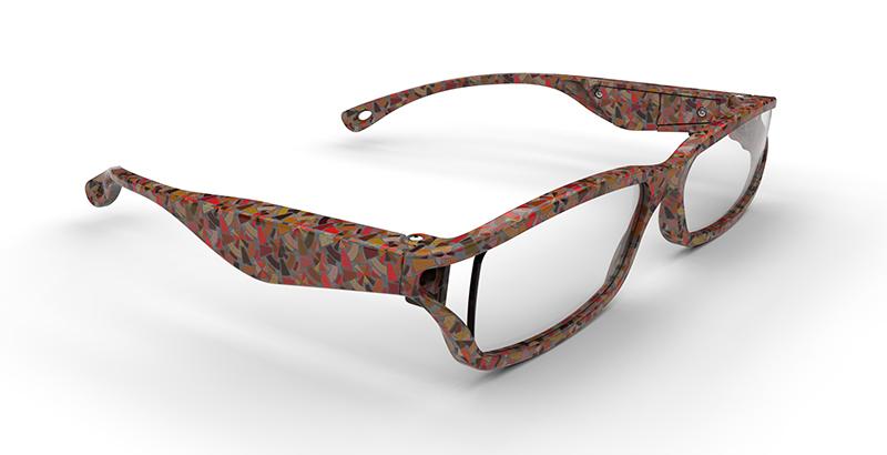 Eyewear-glasses-3D-rendering