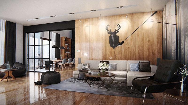 Interior-CG-Panorama-rendering