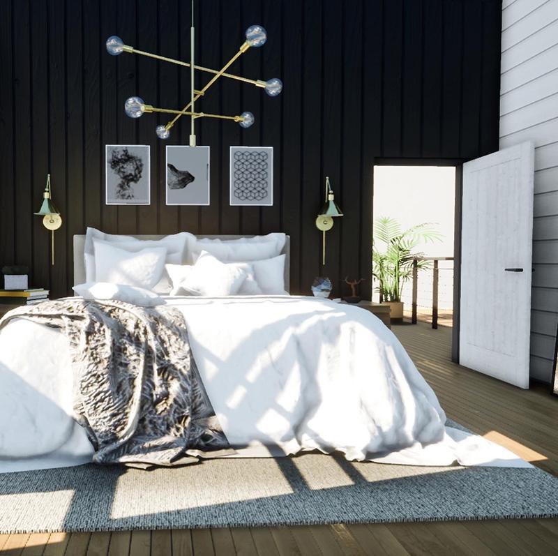 Bed-3D-rendering-design