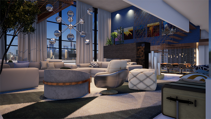 Penthouse-furniture-rendering