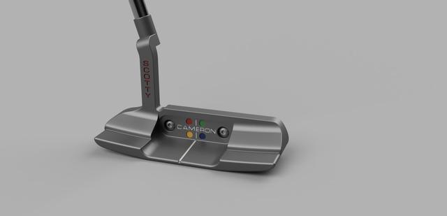 3d-model-golf-putter