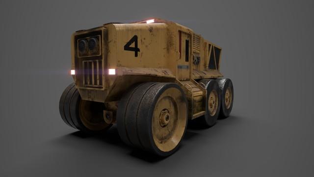 3d-model-truck