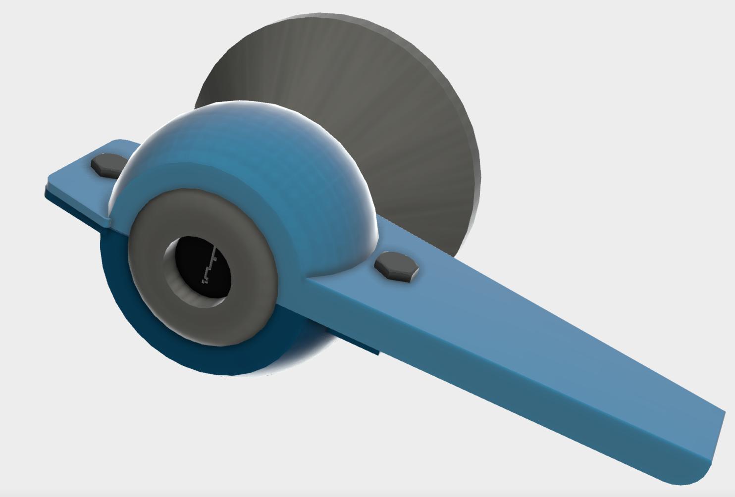 Wrist door handle
