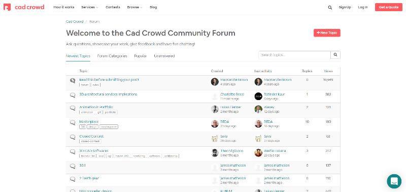 cad-crowd-forum