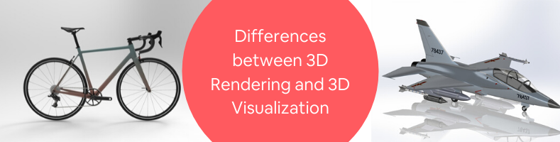 Differences between 3D Rendering and 3D Visualization