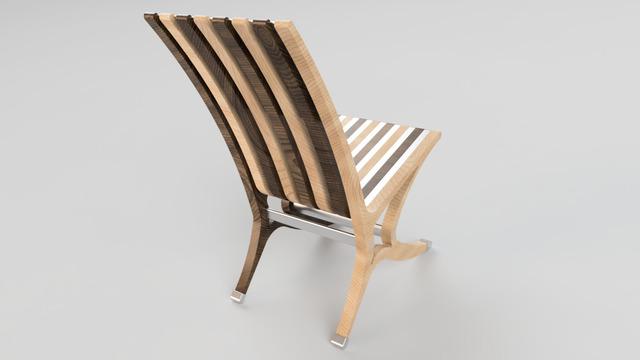 custom outdoor furniture 3d model