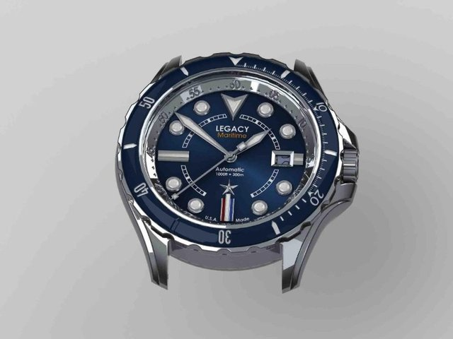 watch design 3d model