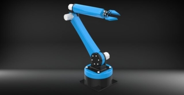 Six-Axis-Industrial-Robotic-Arm