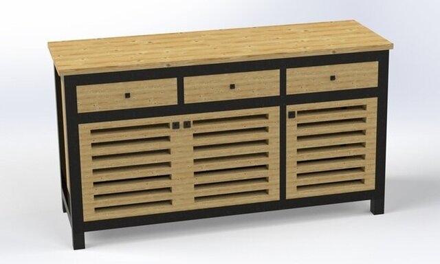 Wooden-Cupboard