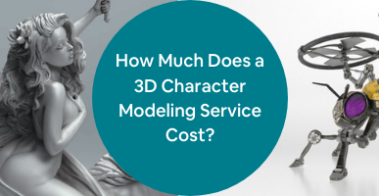 3d character modeling cost