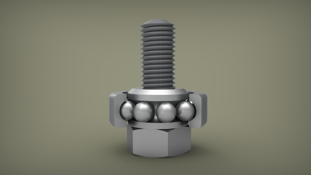 D Printing Exhibition In : D printing fastener bolt bearing by ridwan sept on cad