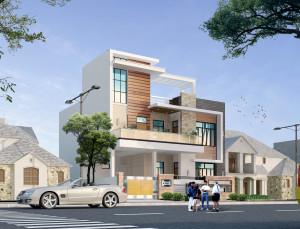 Exterior  architectural  visualisation