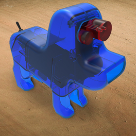 Dog robot design