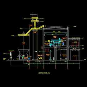 Industrial plant construction