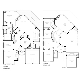 Floorplan with AutoCAD