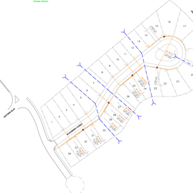 New subdivision drawings
