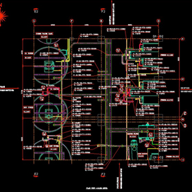 Piping electrical drawings