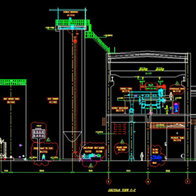 Structural plant layout