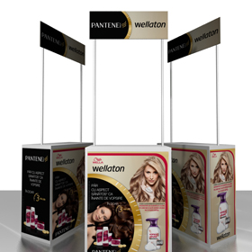 Pantene display design