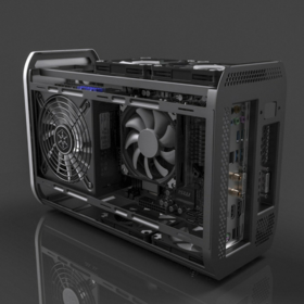 Mini ITX case design version two