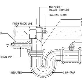 mechanical hvac shop drawing details