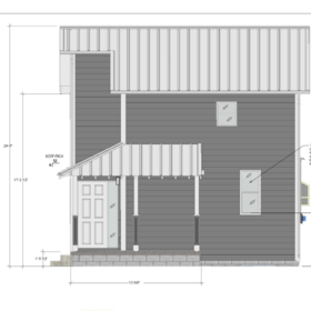 Set of CAD House Plans