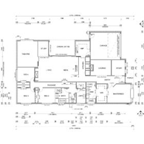 Architectural 2D Drafting Services