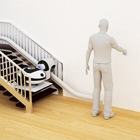 Stair mobility device