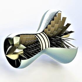 3D jet engine design