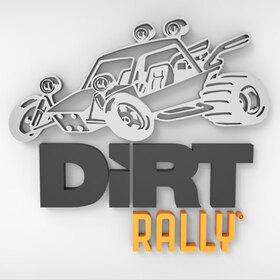Dirt Rally 3D logo and animation