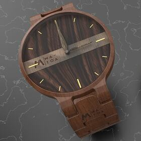Wooden watch design