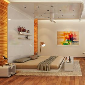 Bedroom architectural animation