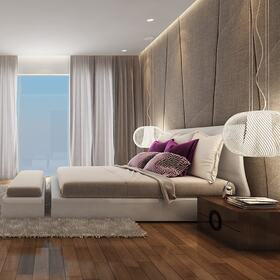 Bedroom 3D architectural animation