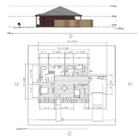 Residential house Revit conversion