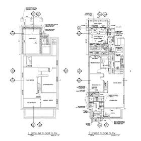 House renovation CAD drawing