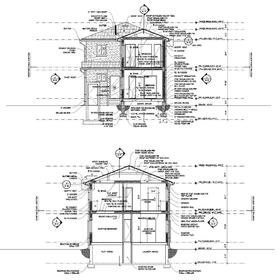 Residence CAD drawing