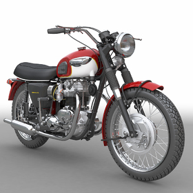 Triumph Bonneville motorcycle design