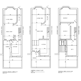 House extension CAD design