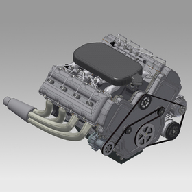 Engine CAD design