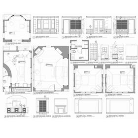 Architectural AutoCAD design