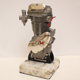 Miniature engine prototype