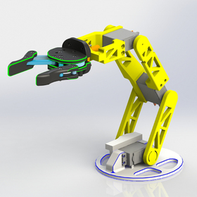 Multipurpose robotic arm