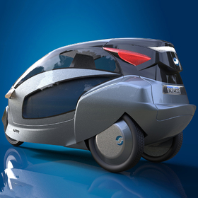 Smart electric tricycle design