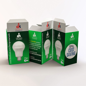 Lightbulb packaging design