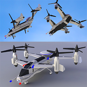 Transport drone design